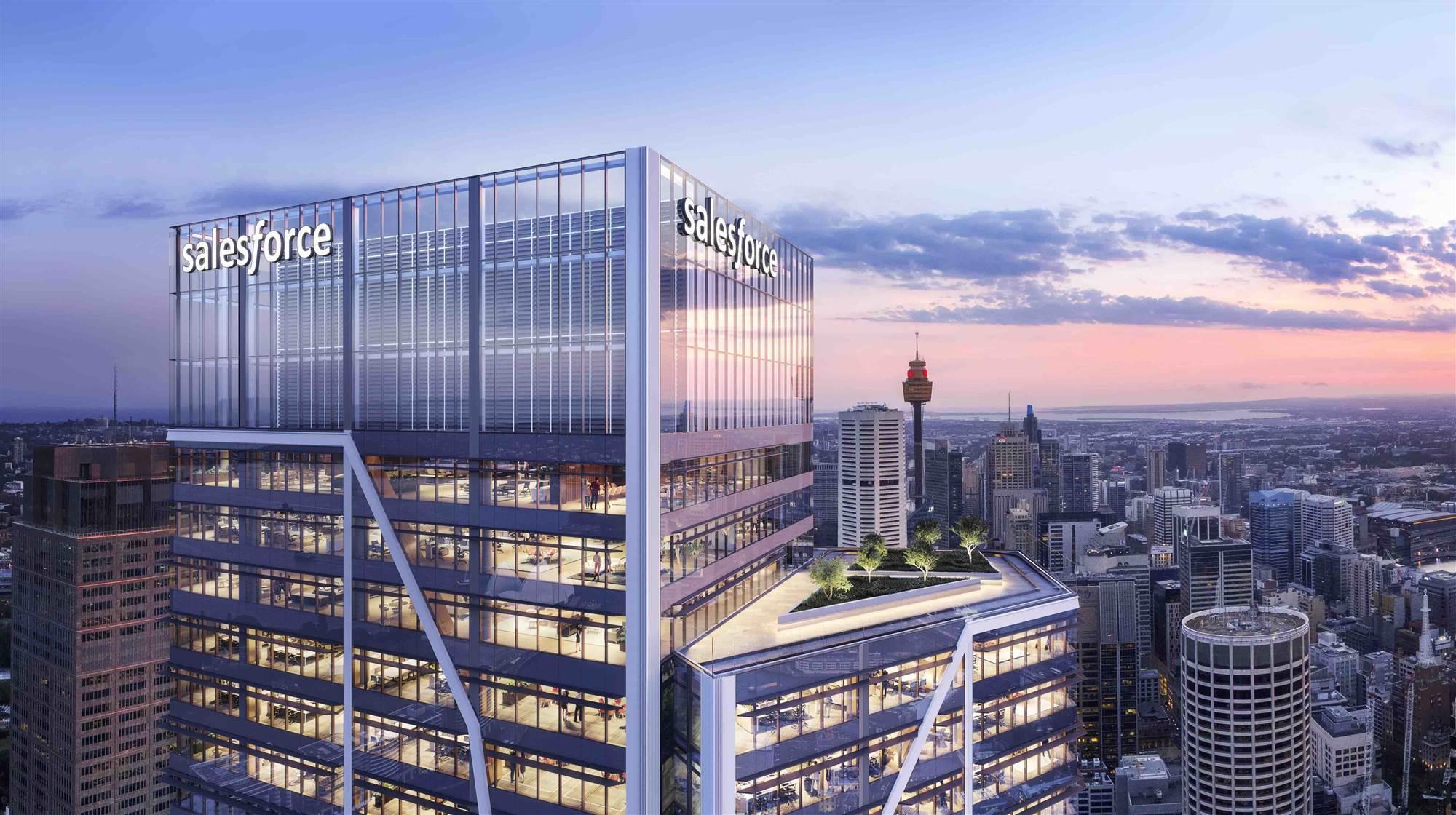 Salesforce Tower - New Sydney Stock