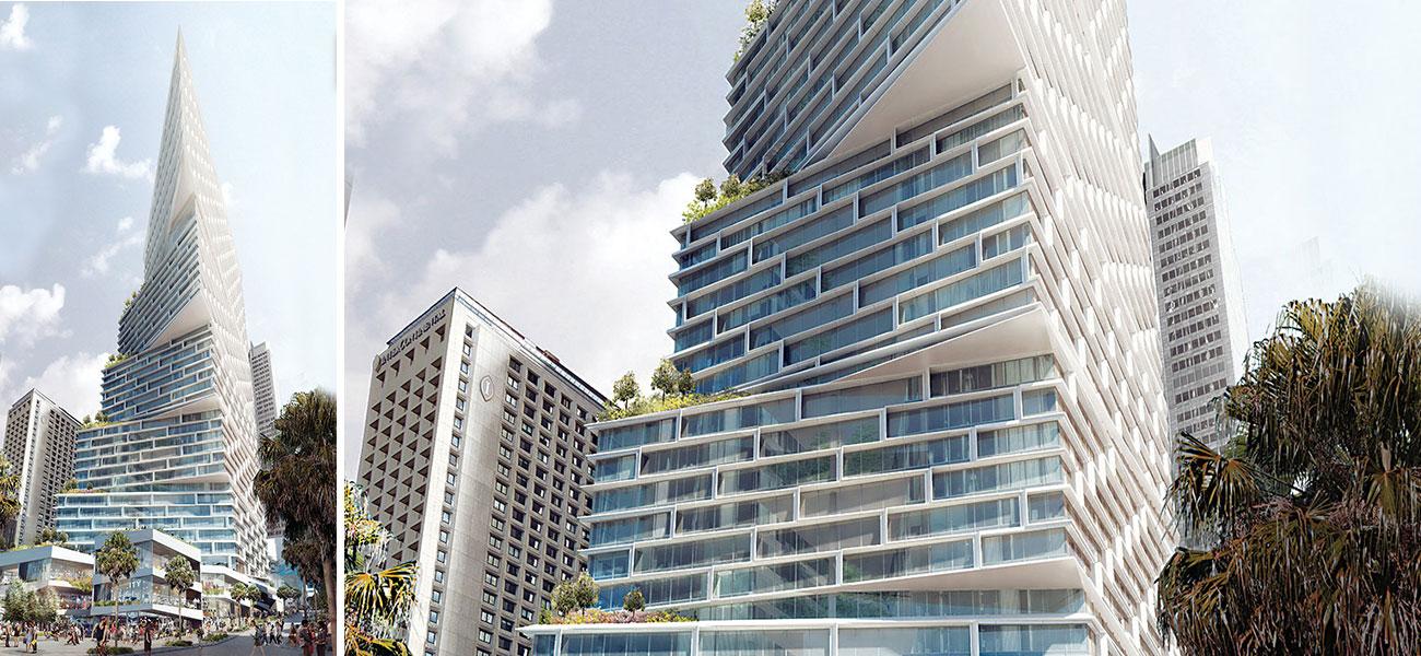 Quay Quarter Tower - Sydney stock