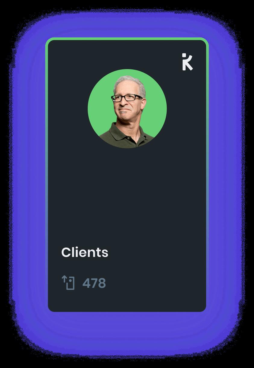 an example k-card