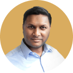 photo of Nirosh, co-founder of known2me