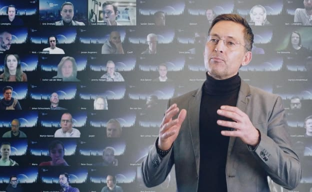 Thumbnail of client case video Royal Haskoning DHV Digital