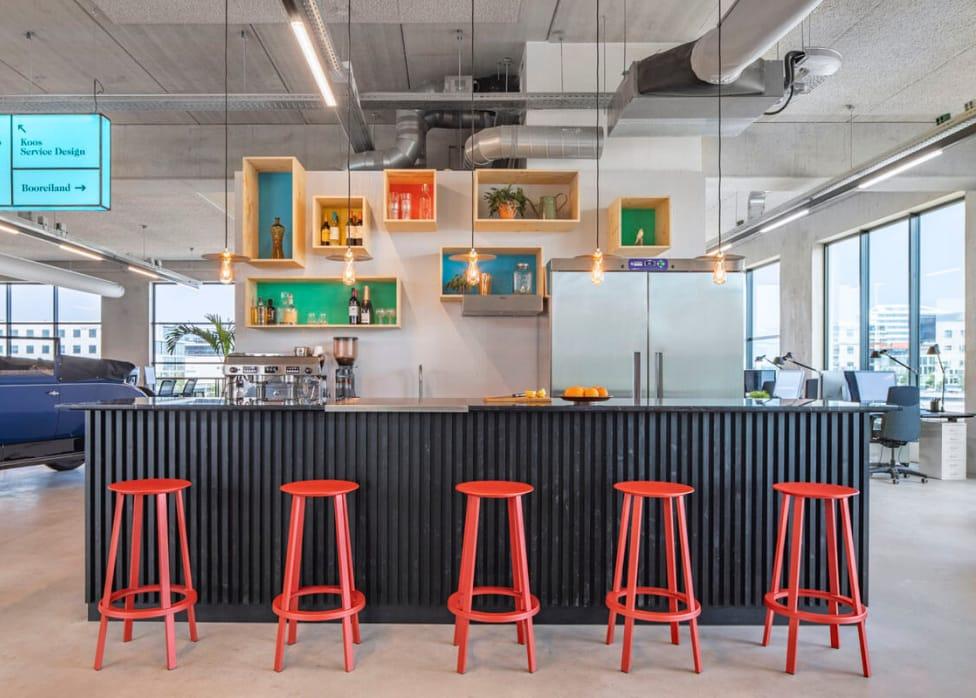 Photo of office  kitchen