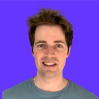 Profile picture of Ross Middleton, CFO, Deversifi on blue backdrop