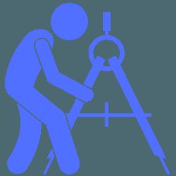 man working on machine