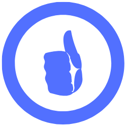 thumbs up symbol/icon