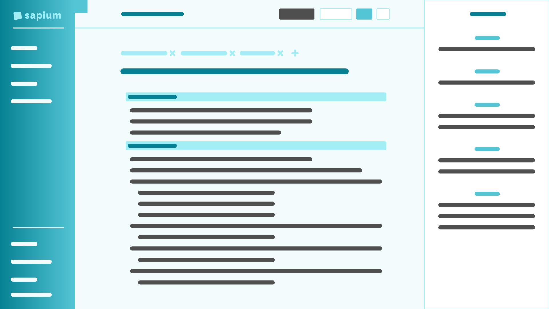 Stylized screenshot of Editor page