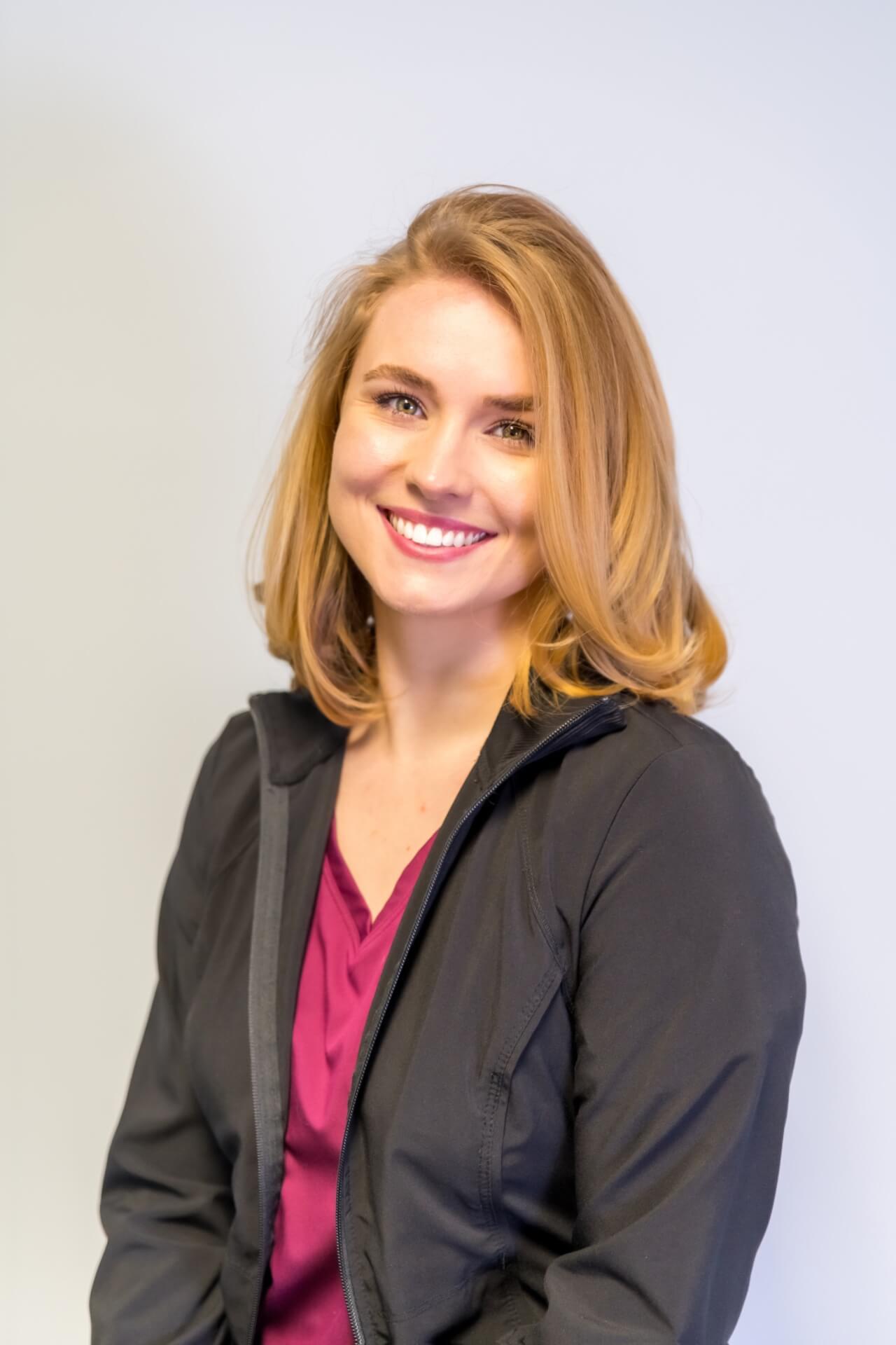 Jordan cares for patients as a dental hygienist