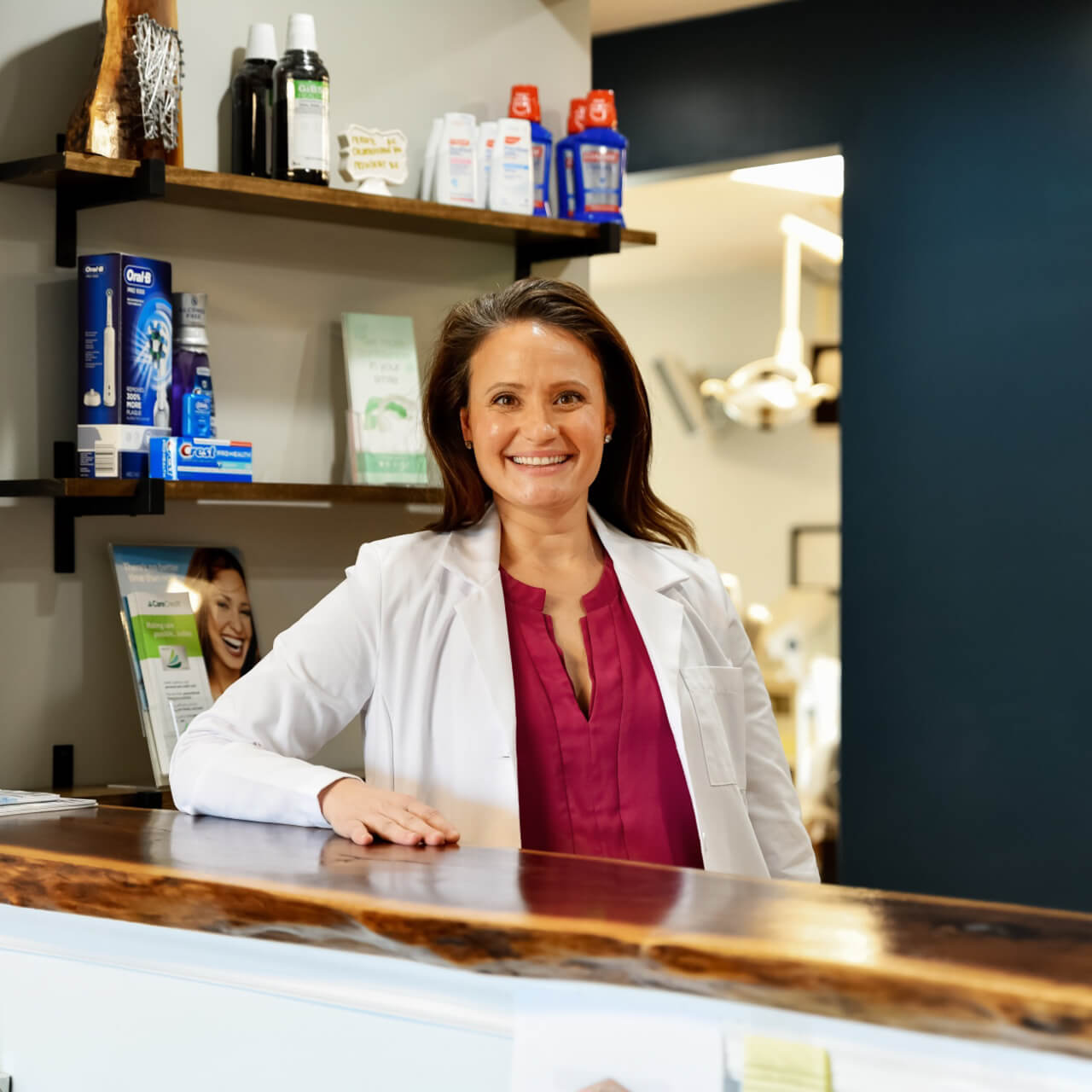 Dr. Megan Kottman provides great dental care to patients.