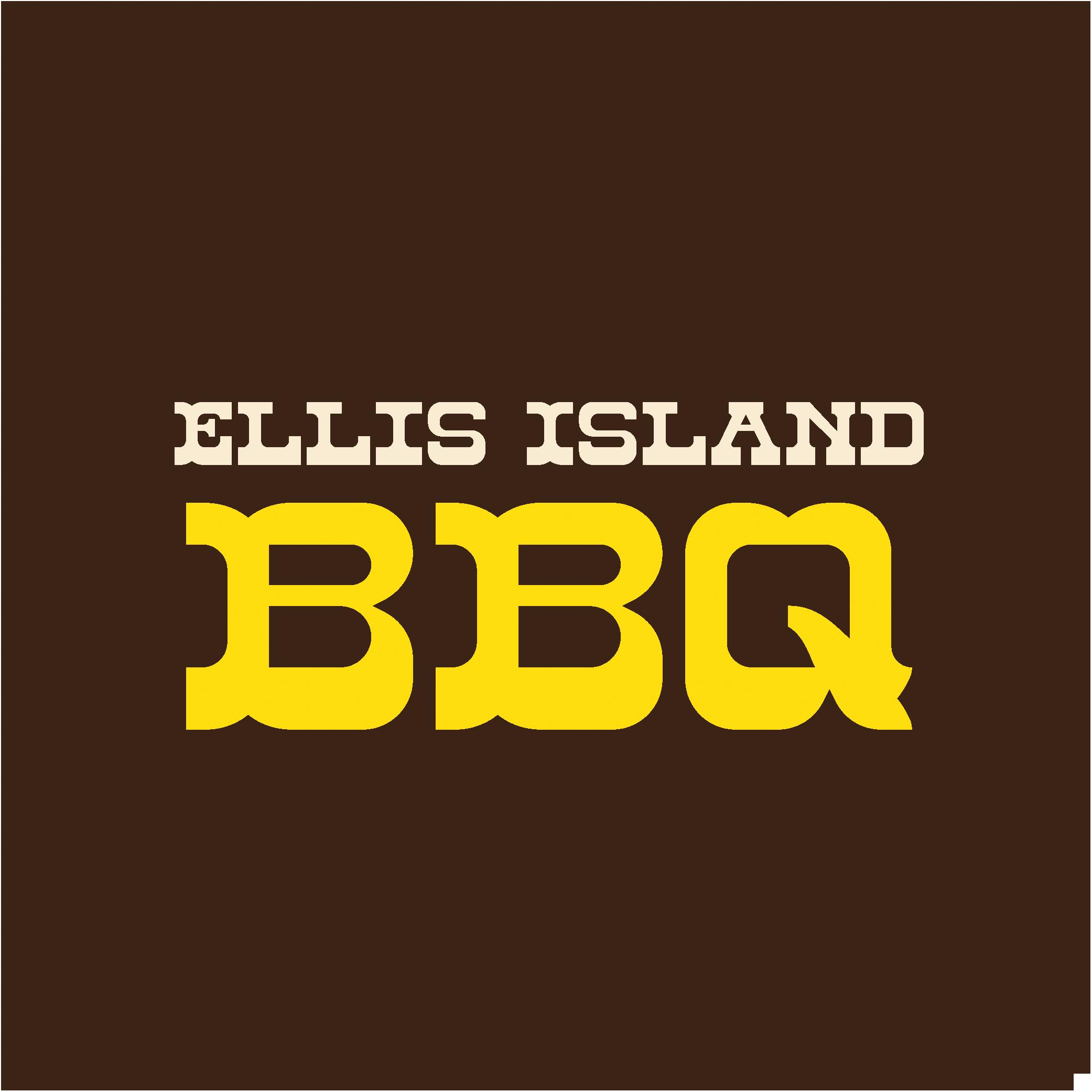 Logo for Ellis Island BBQ
