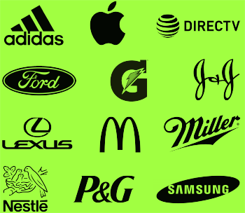 logos of global brands