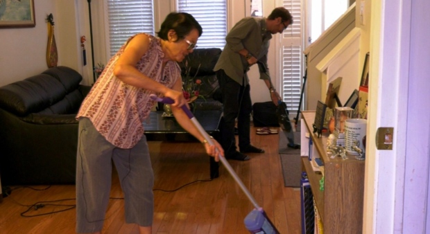 An unlikely match: Why more seniors and students are living together