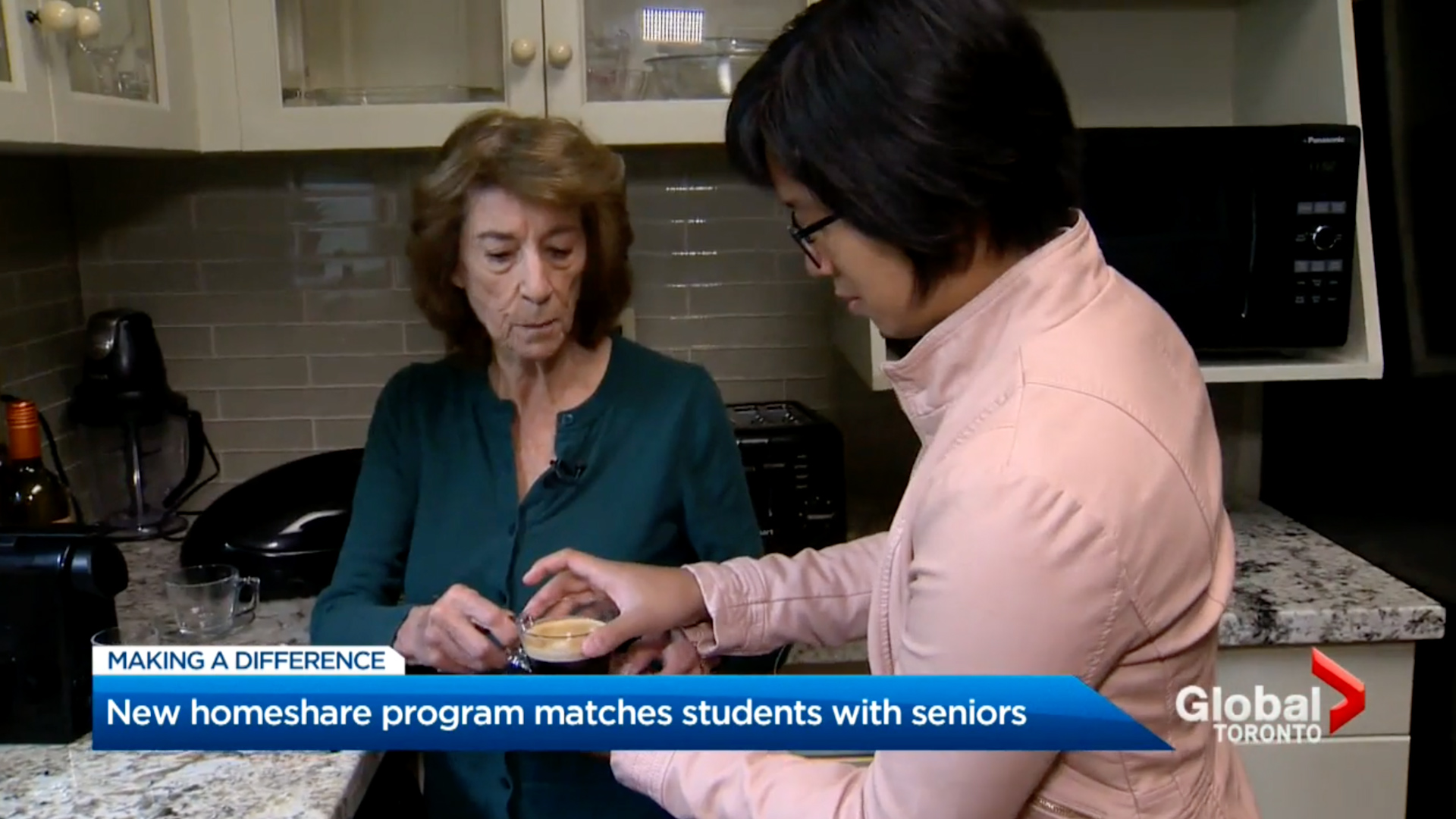 Toronto seniors and students coming together under one roof