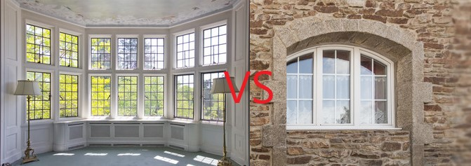 Differences: Bow Window and Bay Window