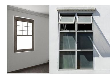 Single Hung Window and Double Hung Window