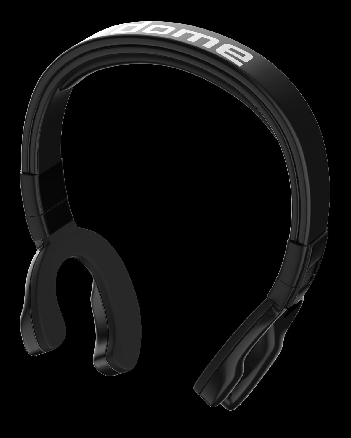 set of dome headphones