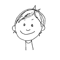 Drawing of first participant from user testing.