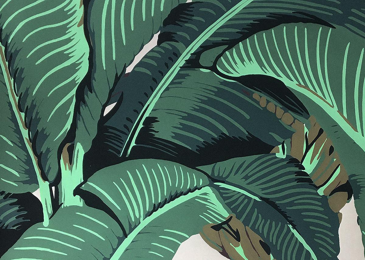 malie organics botany background