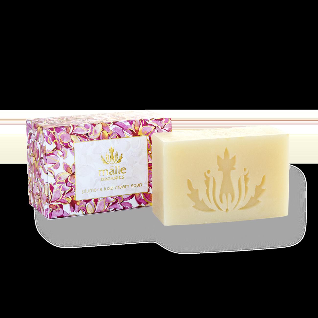 Plumeria Luxe Cream Soap