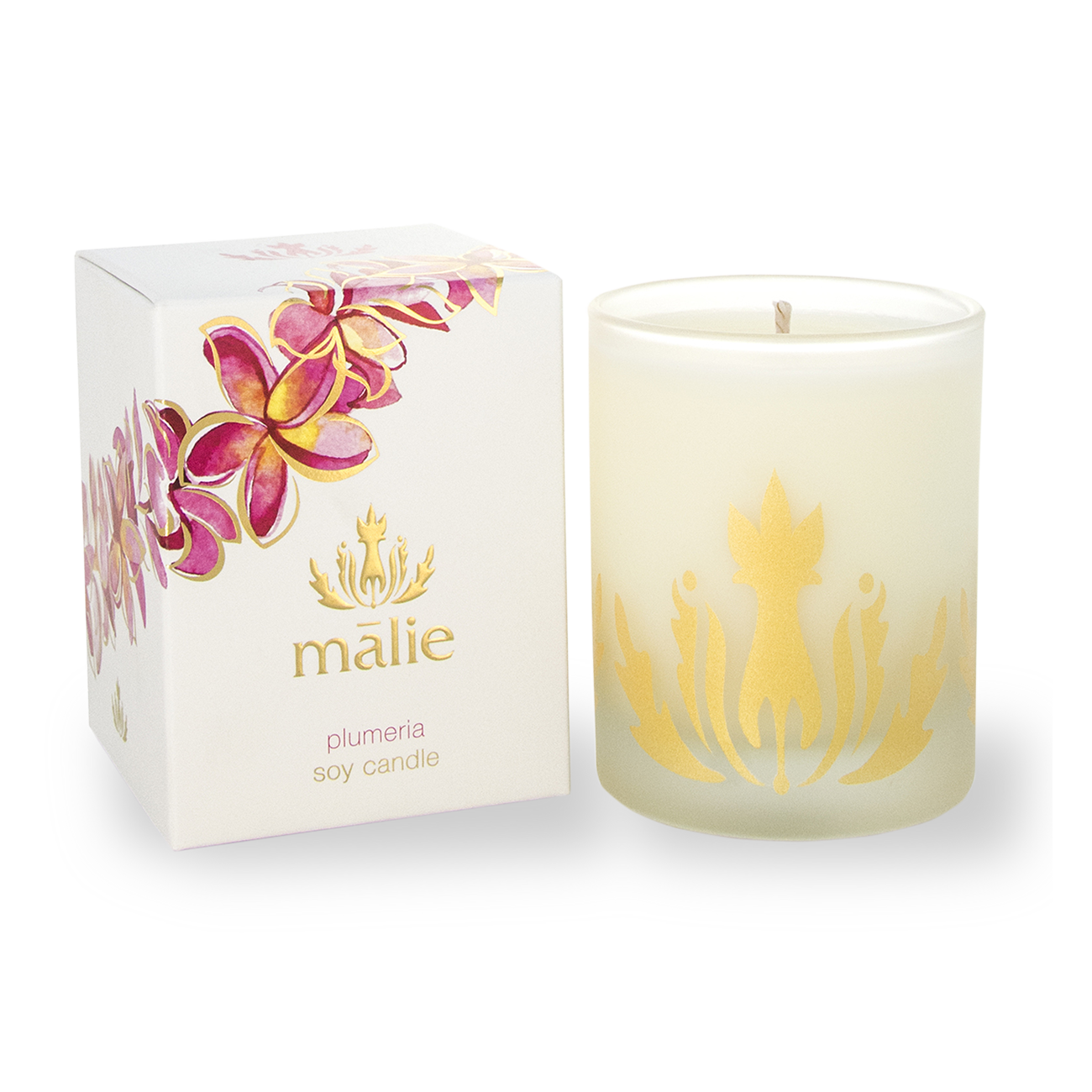 Plumeria Soy Candle