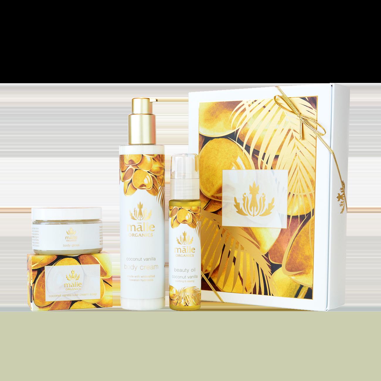 Coconut Vanilla Luxe Spa Box