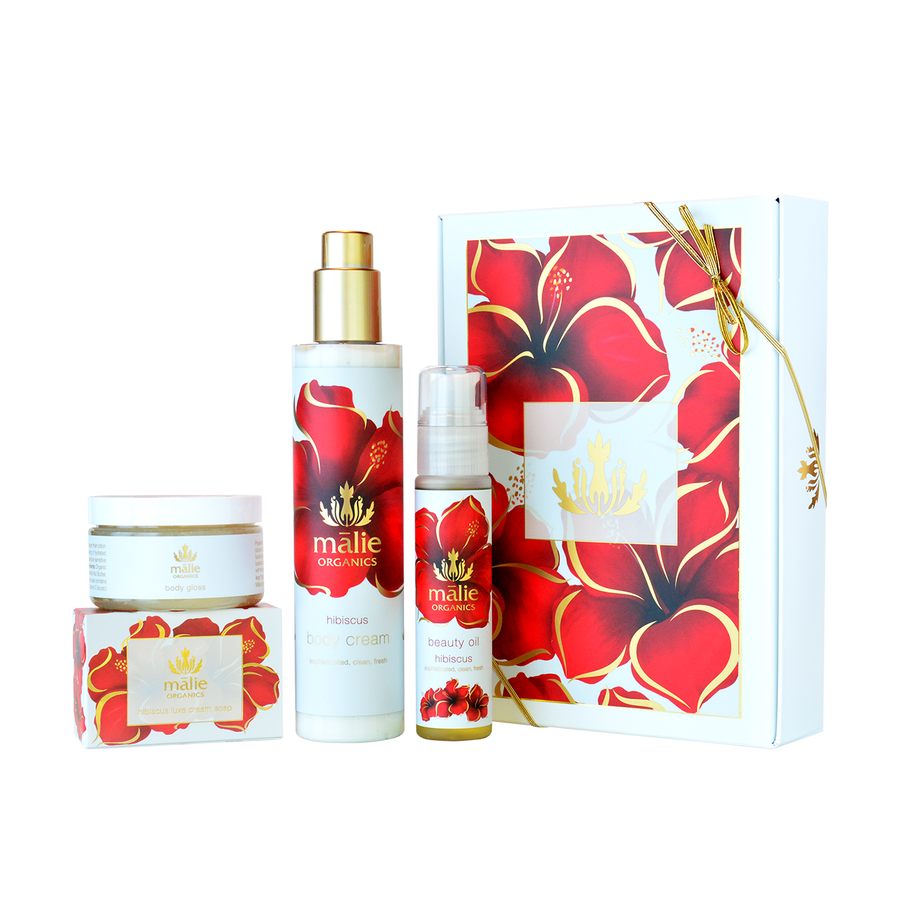 Hibiscus Luxe Spa Box