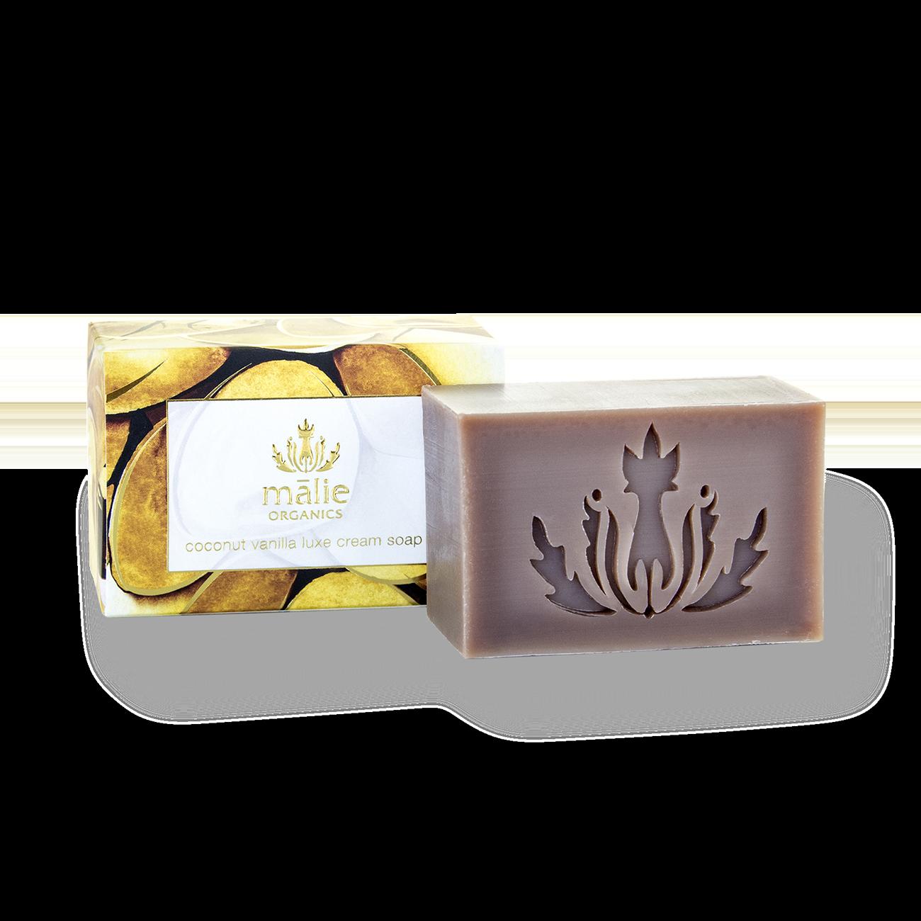 Coconut Vanilla Luxe Cream Soap
