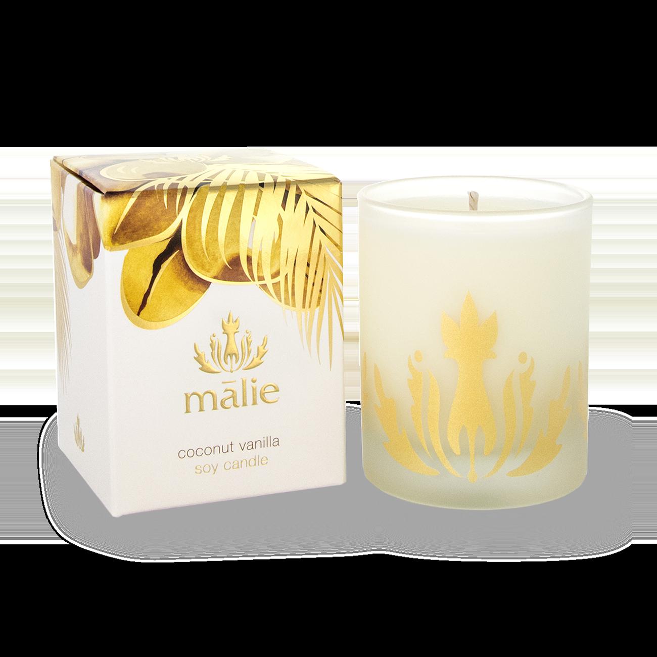 Coconut Vanilla Soy Candle
