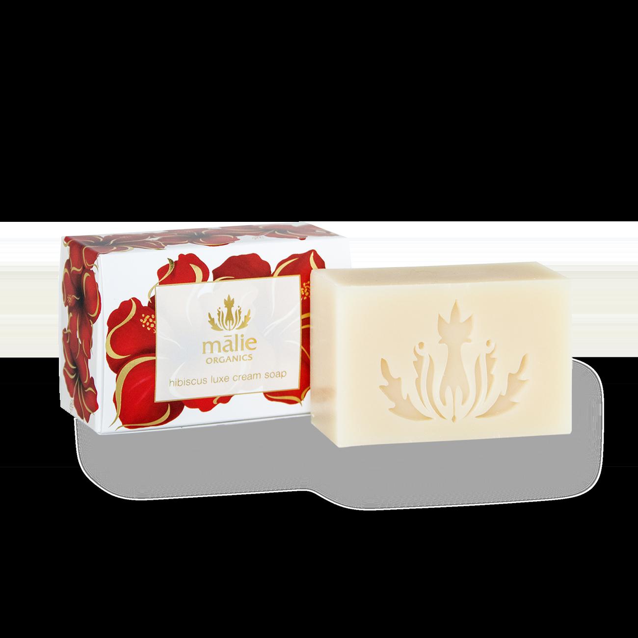 Hibiscus Luxe Cream Soap