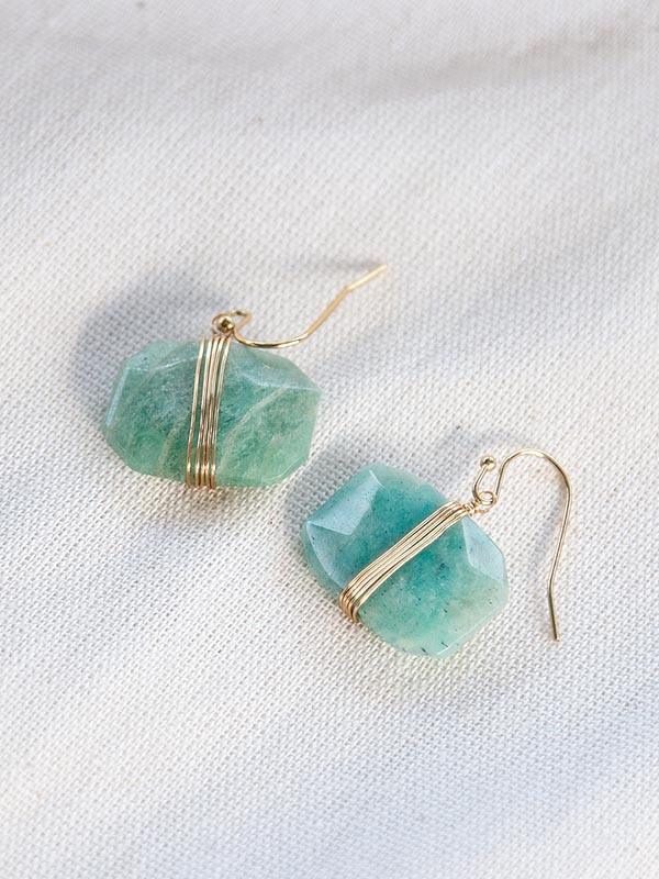 Heartland Wanderer Handmade Jewelry Tao Earrings