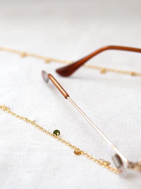 Heartland Wanderer Handmade Jewelry Lao Liang Glasses Chain
