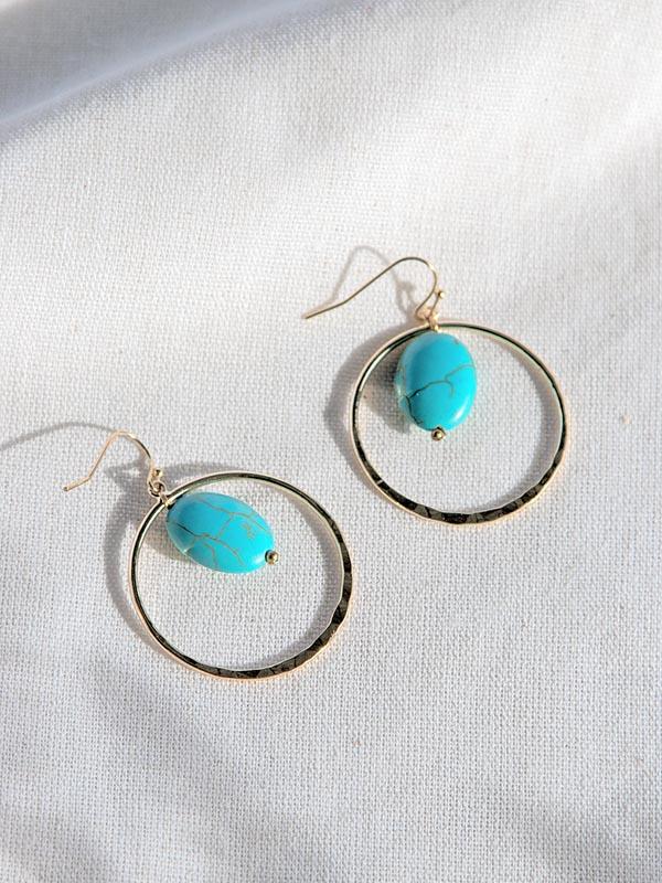 Heartland Wanderer Handmade Jewelry Yao Noi Earrings