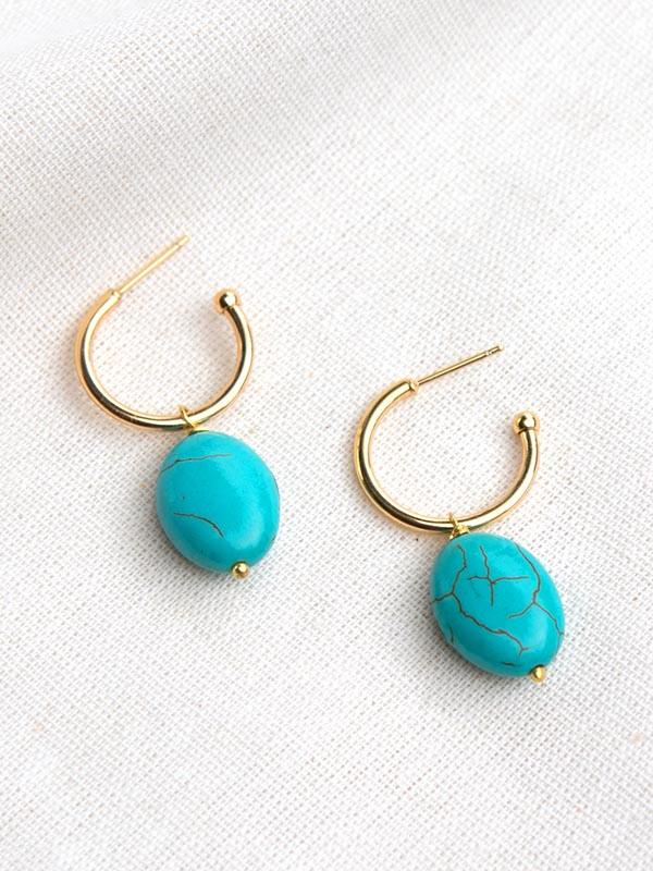 Heartland Wanderer Handmade Jewelry Yao Earrings