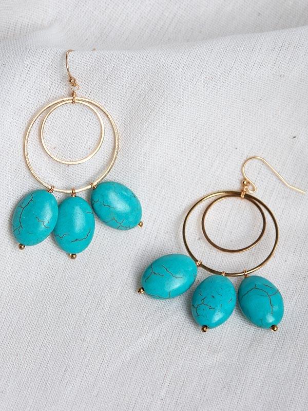 Heartland Wanderer Handmade Jewelry Yao Yai Earrings
