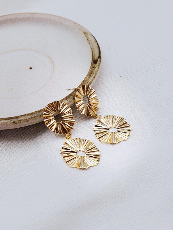 Heartland Wanderer Handmade Jewelry Bai Bua Earrings