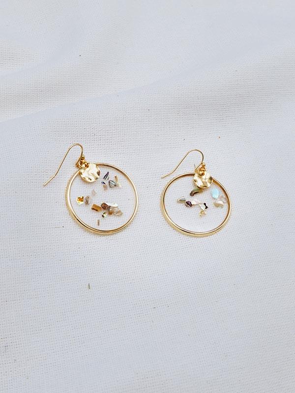 Heartland Wanderer Handmade Jewelry Ban Yen Earrings