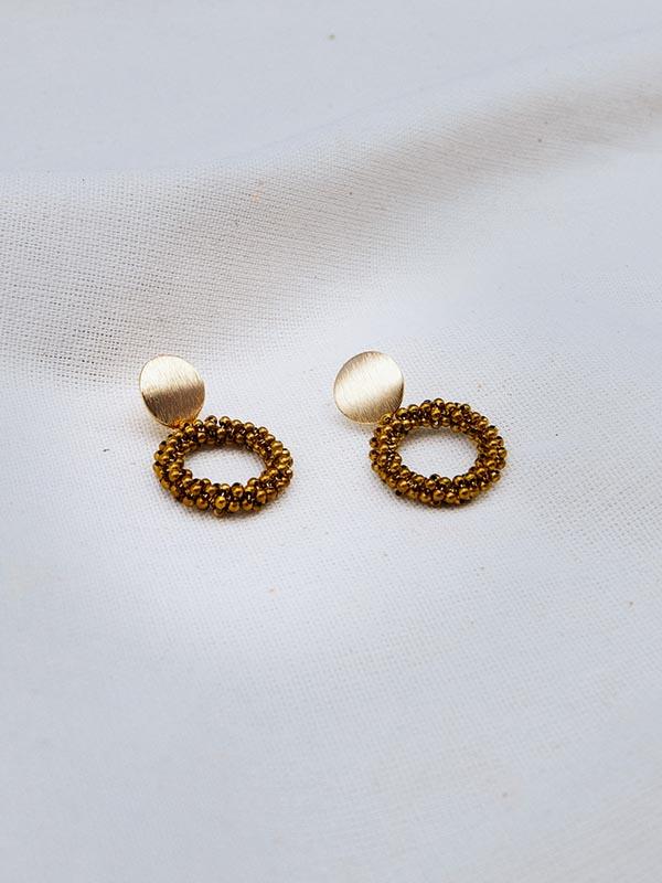 Heartland Wanderer Handmade Jewelry Gleaw Earrings