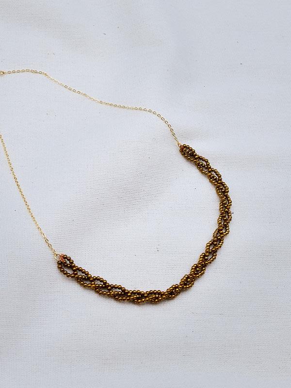 Heartland Wanderer Handmade Jewelry Gleaw Necklace
