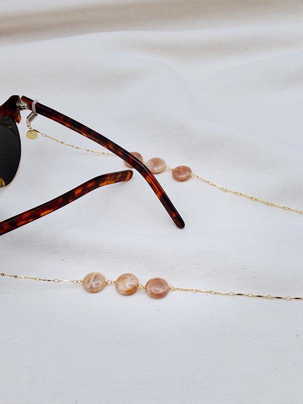 Heartland Wanderer Handmade Jewelry Lum Duan Glasses Chain