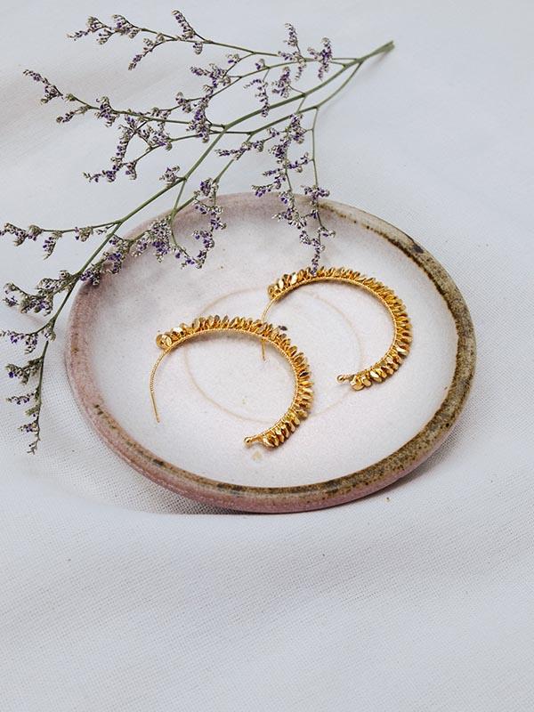 Heartland Wanderer Handmade Jewelry Sai Yud Earrings