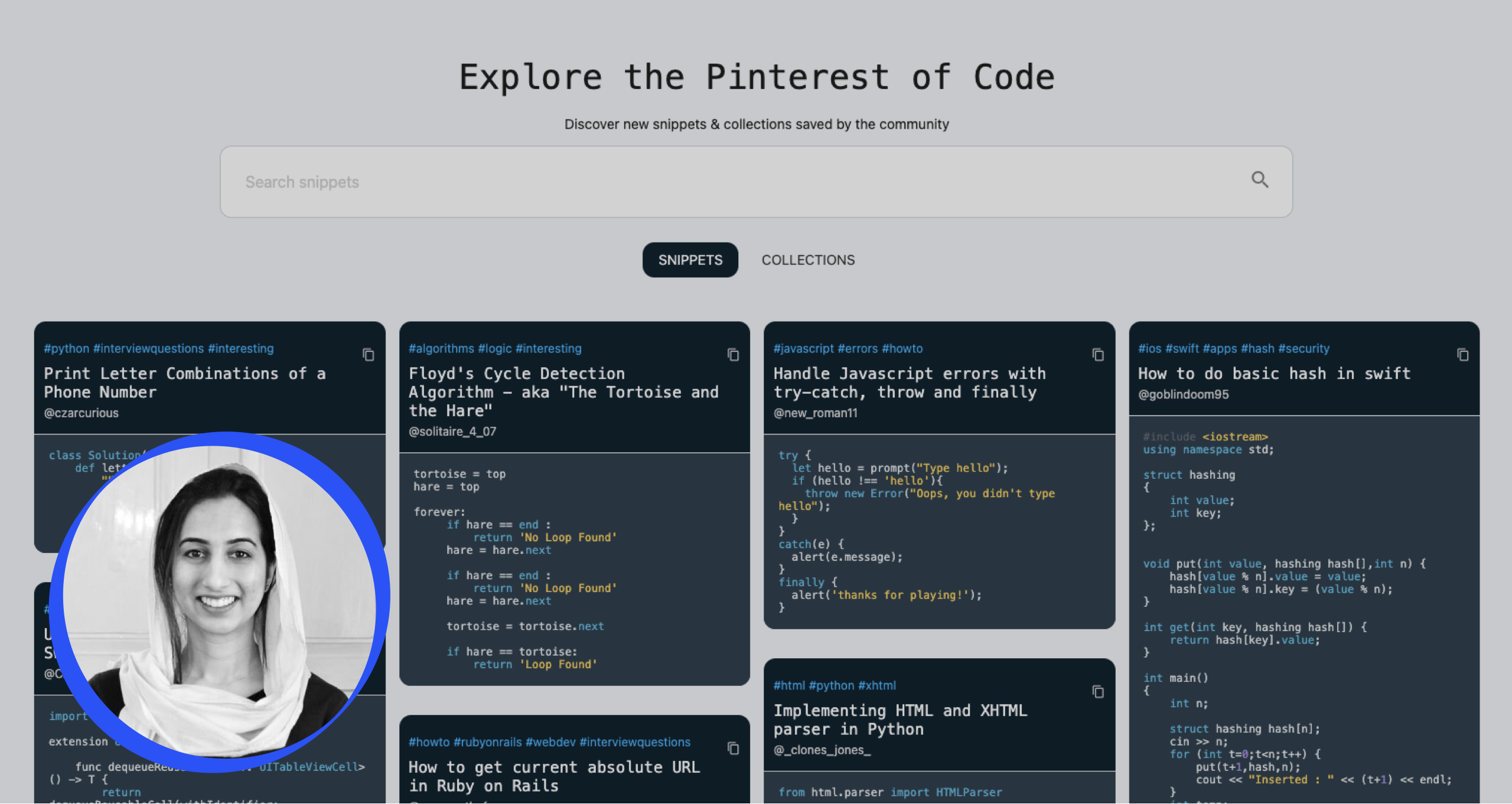 Meet Mishka, an early adopter of Taskable, and founder of thiscodeworks, the Pinterest of code.