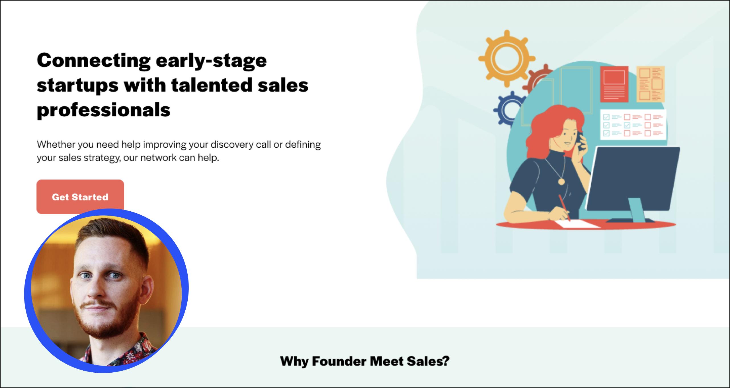 Meet Dak Brown, founder of Founder Meet Sales and a Taskable user.