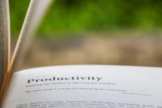 30 Realistic Productivity Quotes
