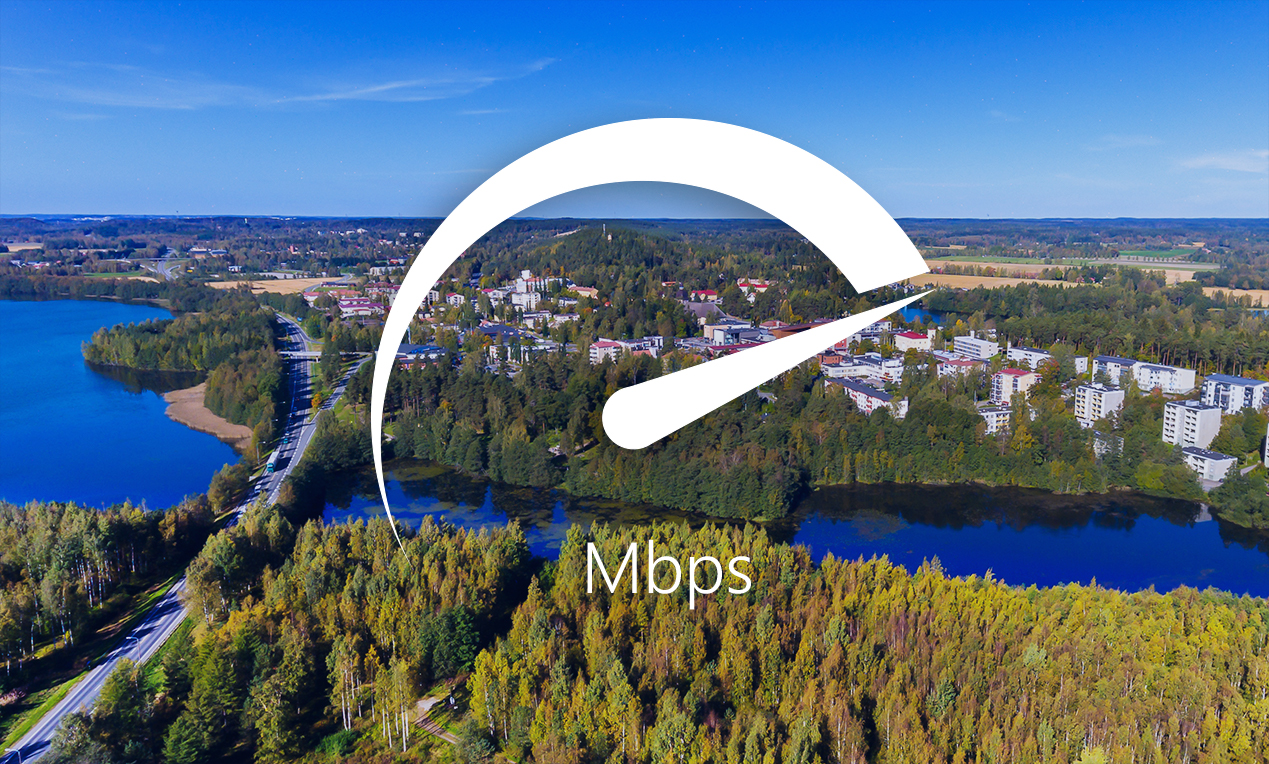 Mobile Data Speeds in 20 Largest Cities in Finland 2019