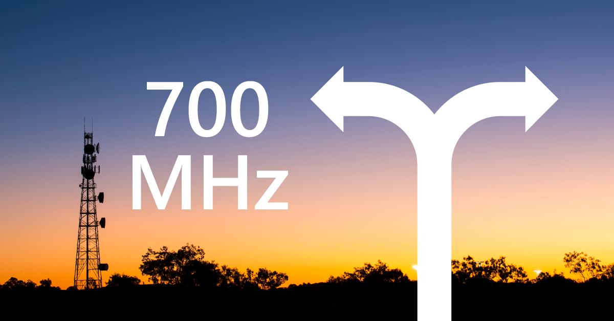 700 MHz: is it a 4G or 5G band?