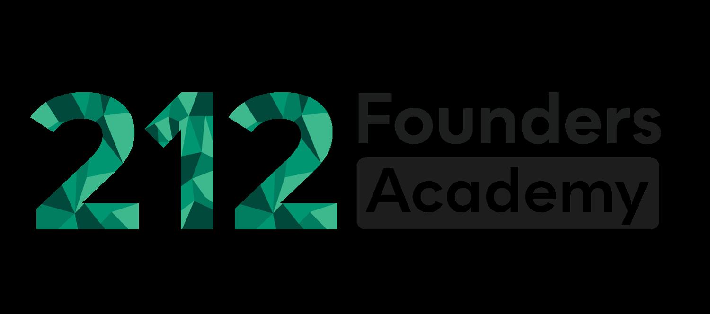 Logo 212Founders Academy horizontal