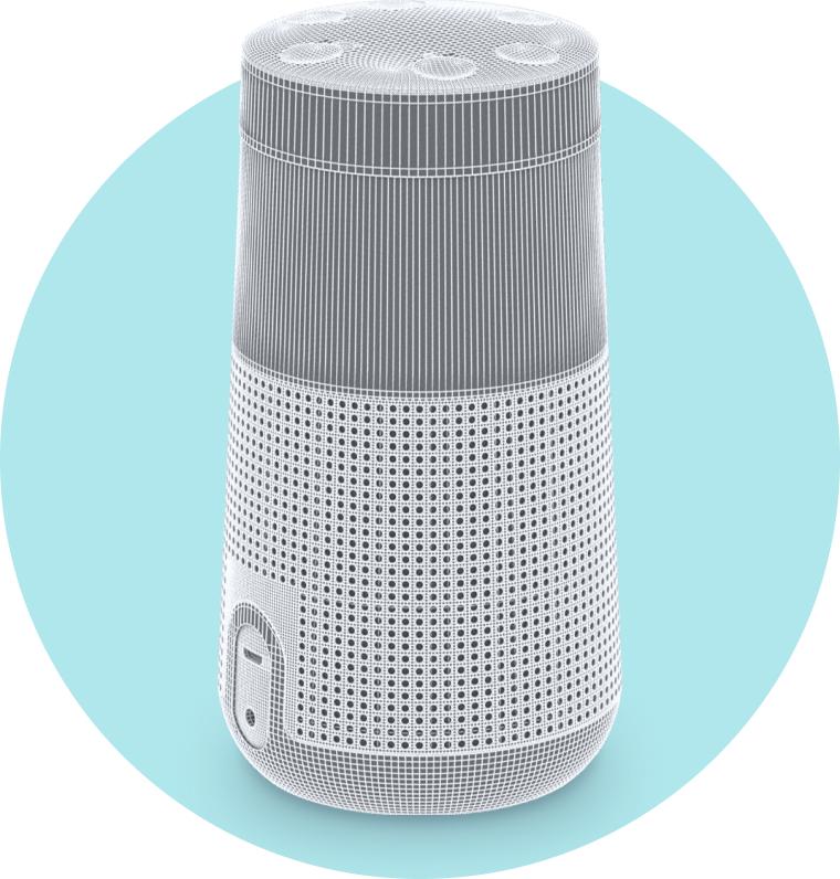 3D speaker image
