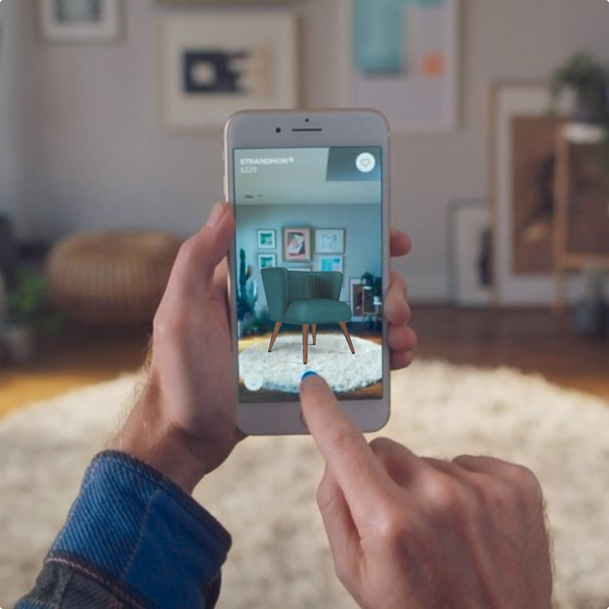 AR powered product visualization