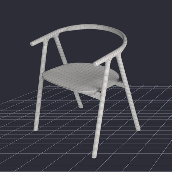 5 products converted into 3D models image