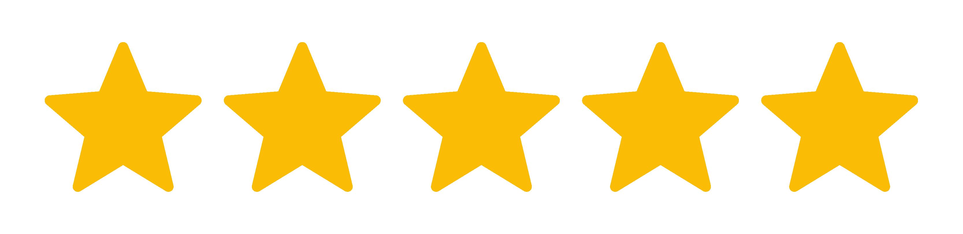 Google Five Stars