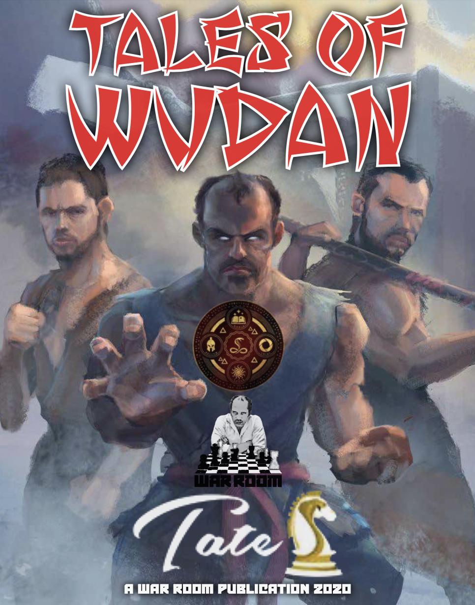 Tales of Wudan cover art.